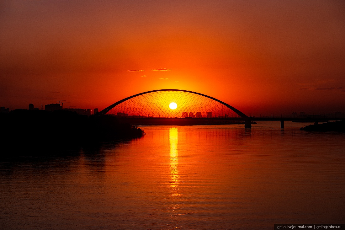 бугринский мост, Новосибирск