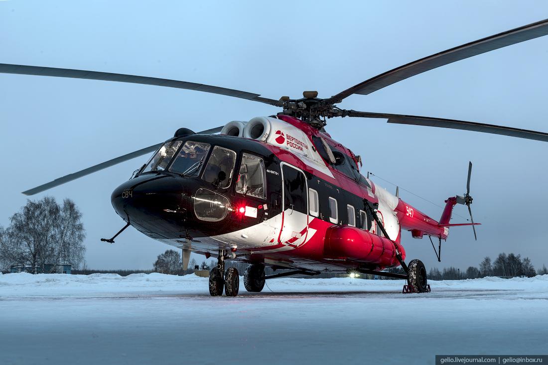 вертолёт Ми-8
