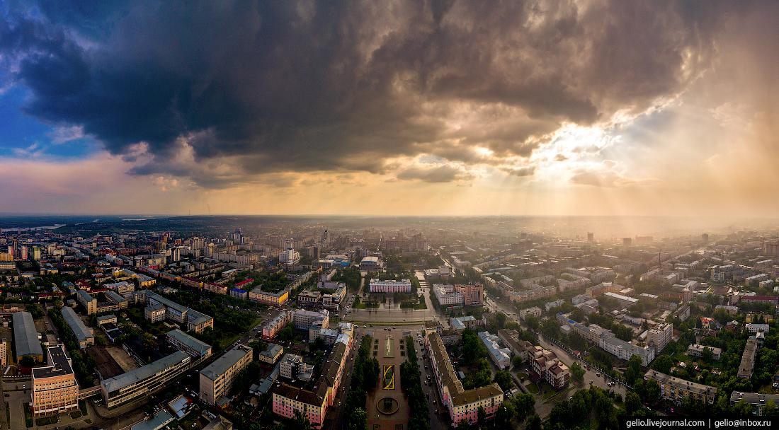 Барнаул с высоты
