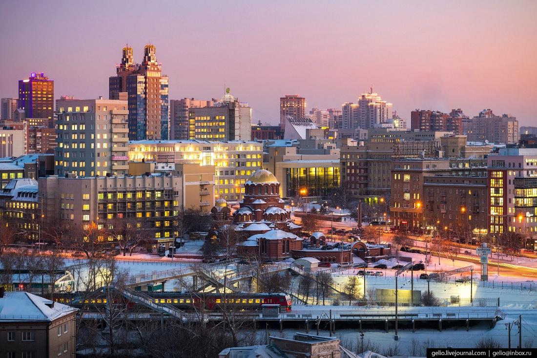 Зимний Новосибирск