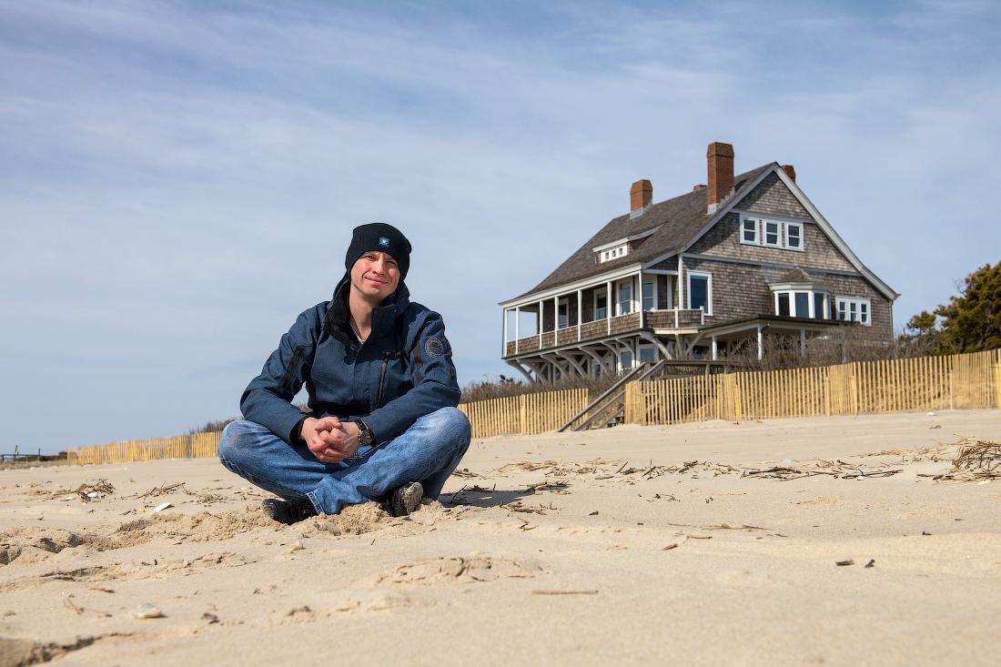 пляж Вечное сияние чистого разума