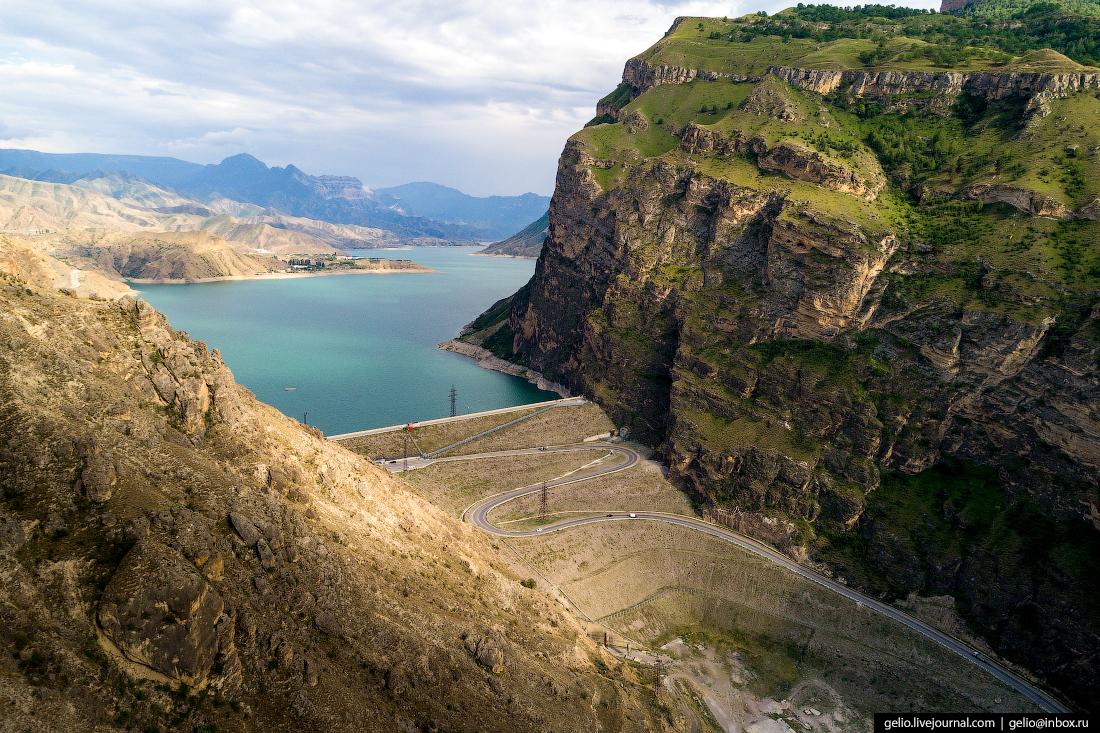 Плотина Ирганайской ГЭС