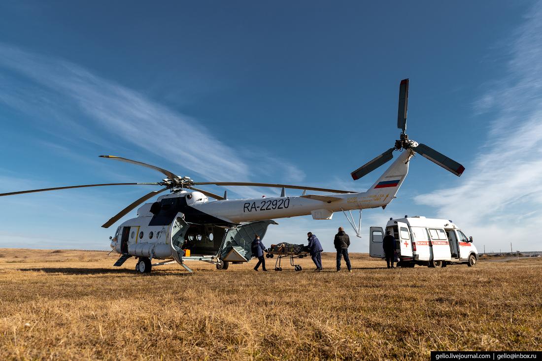 Вертолёт санавиации Ми-8