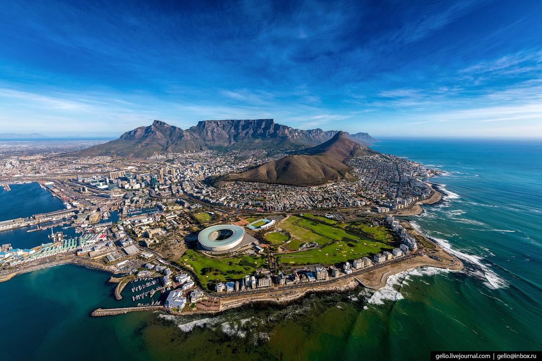 Кейптаун с высоты