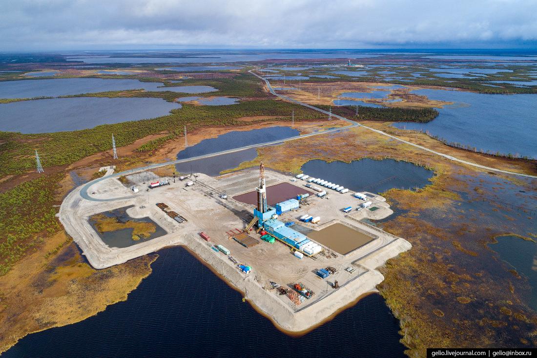 Добыча нефти на Ямале