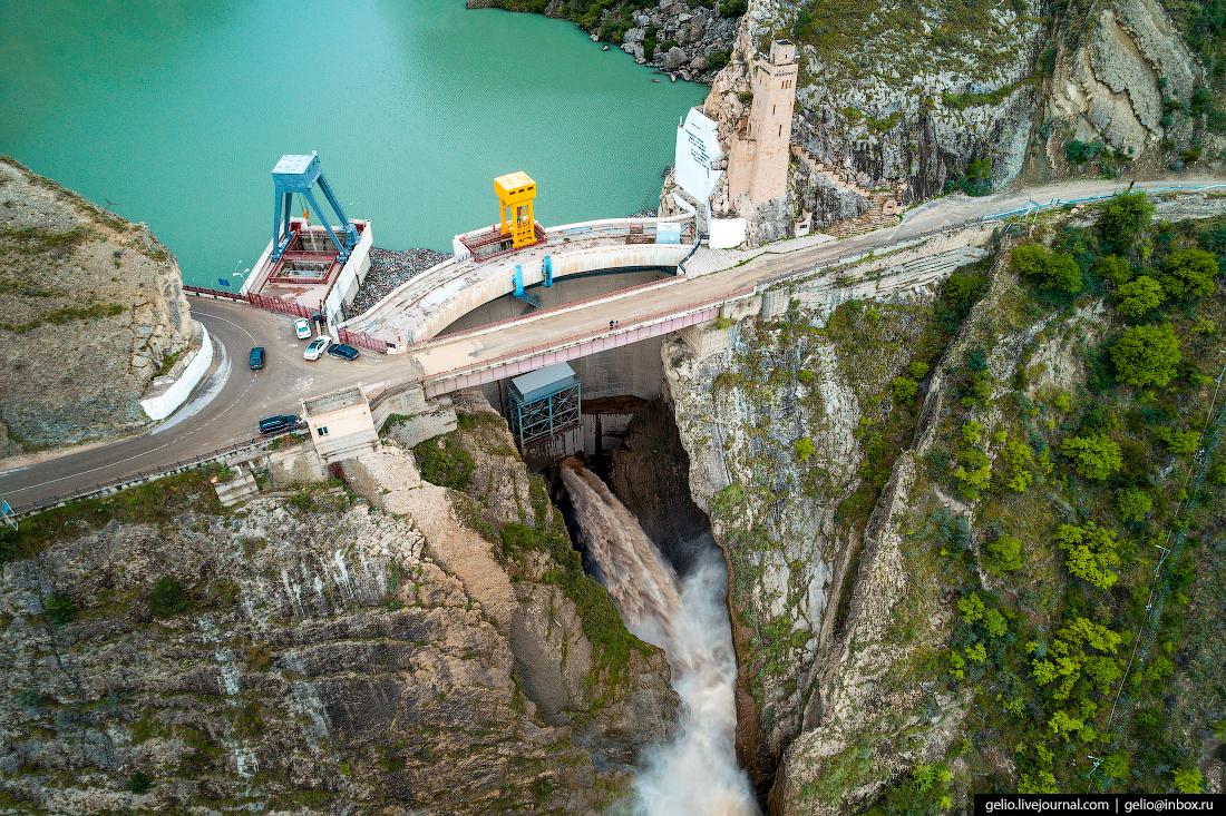 Водосброс на Гунибской ГЭС