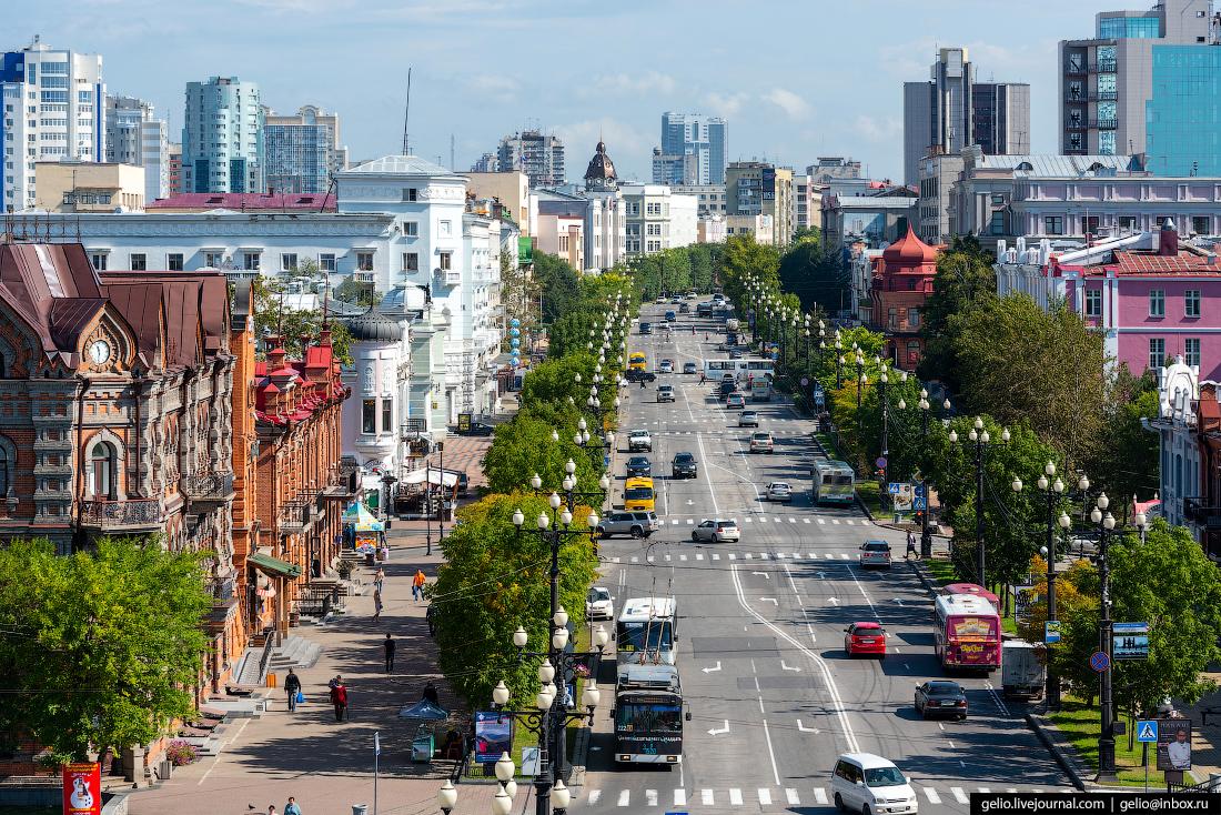 Хабаровск с высоты: город на пятитысячной купюре
