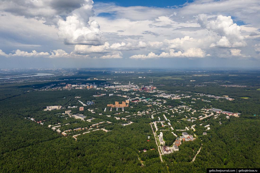 Новосибирск академгородок