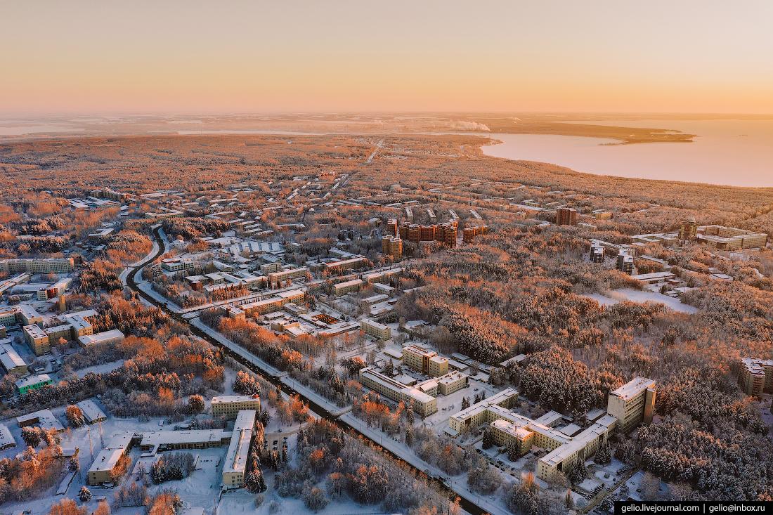 Новосибирский Академгородок Проспект Лаврентьева