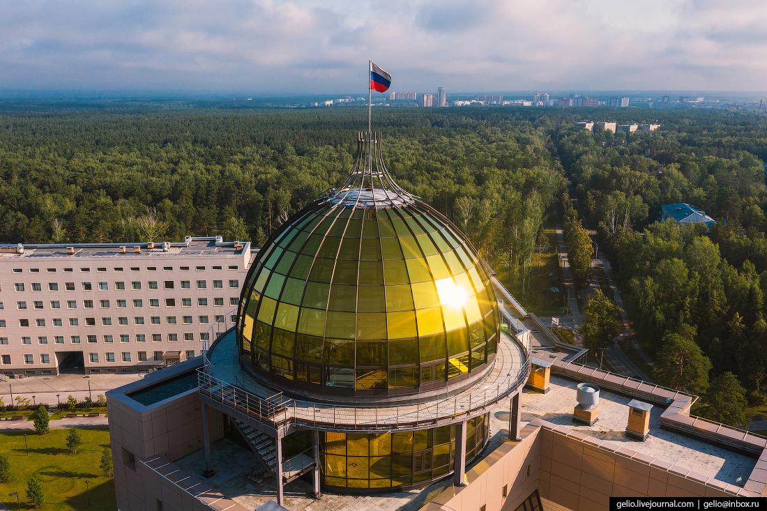 НГУ купол Новосибирский Академгородок