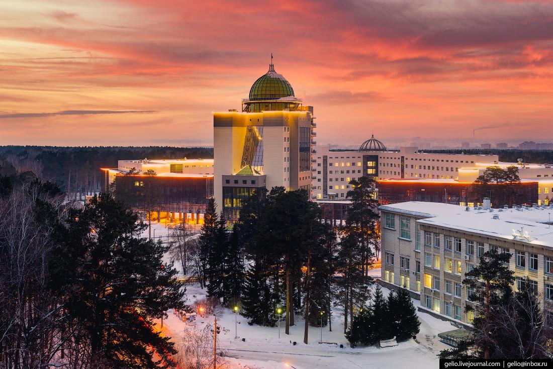НГУ Новосибирский Академгородок