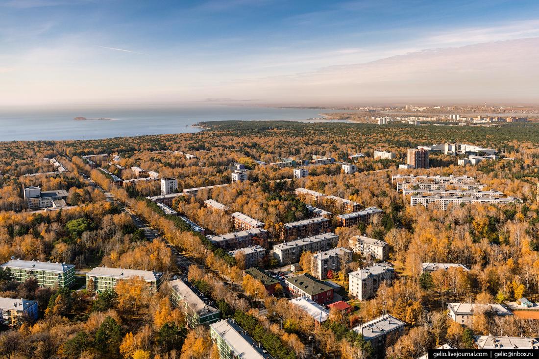 Новосибирский Академгородок Морской проспект