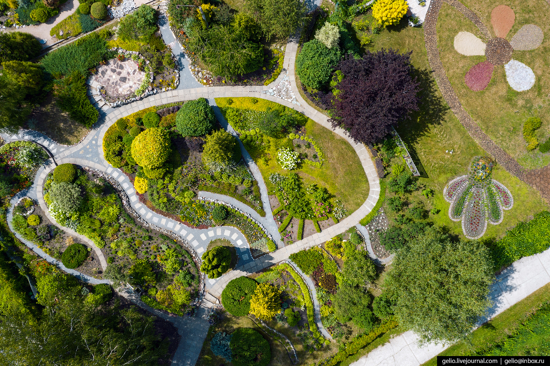 Новосибирский Академгородок Центральный ботанический сад