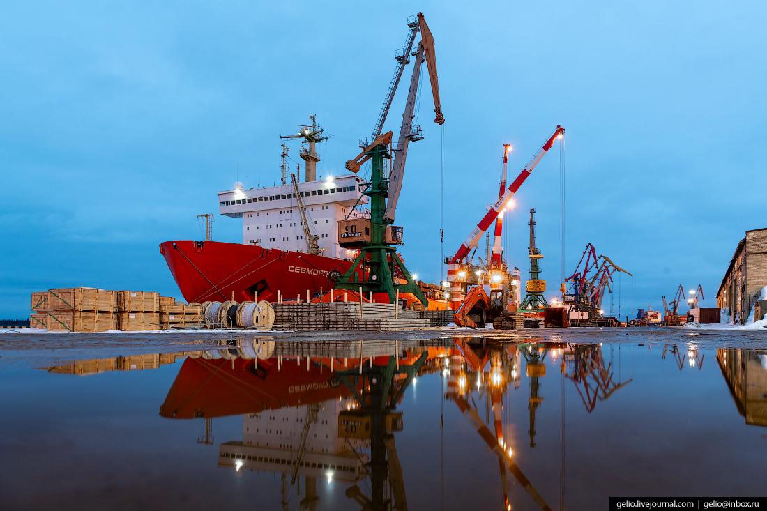Архангельский морской торговый порт — ворота в Арктику