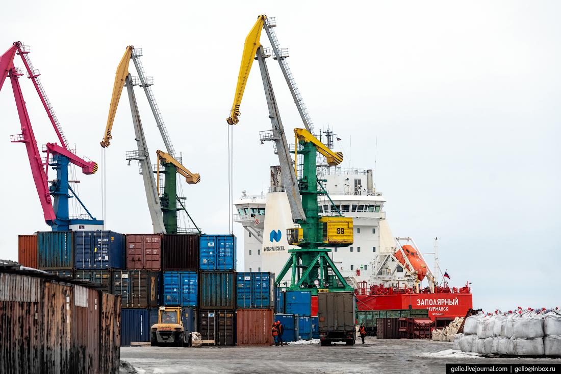 Архангельский морской торговый порт Заполярный