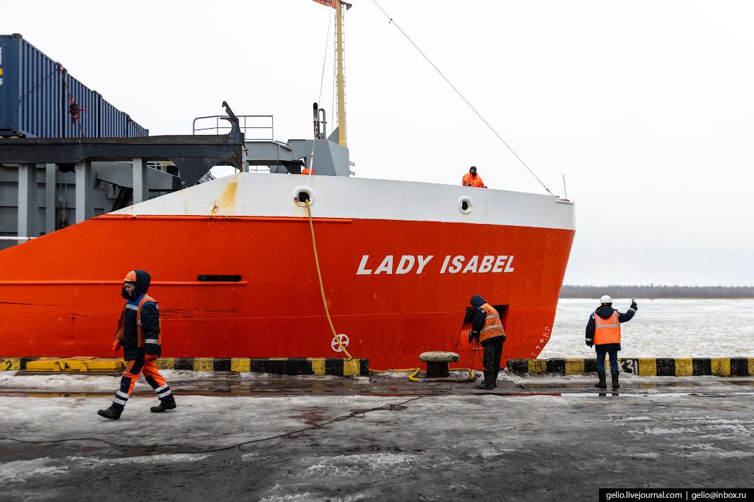 Архангельский морской торговый порт Леди Изабель