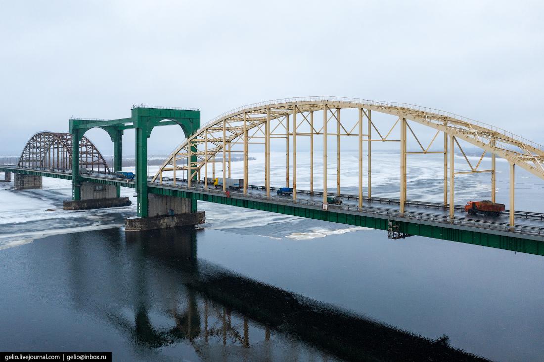 Архангельск Краснофлотский мост