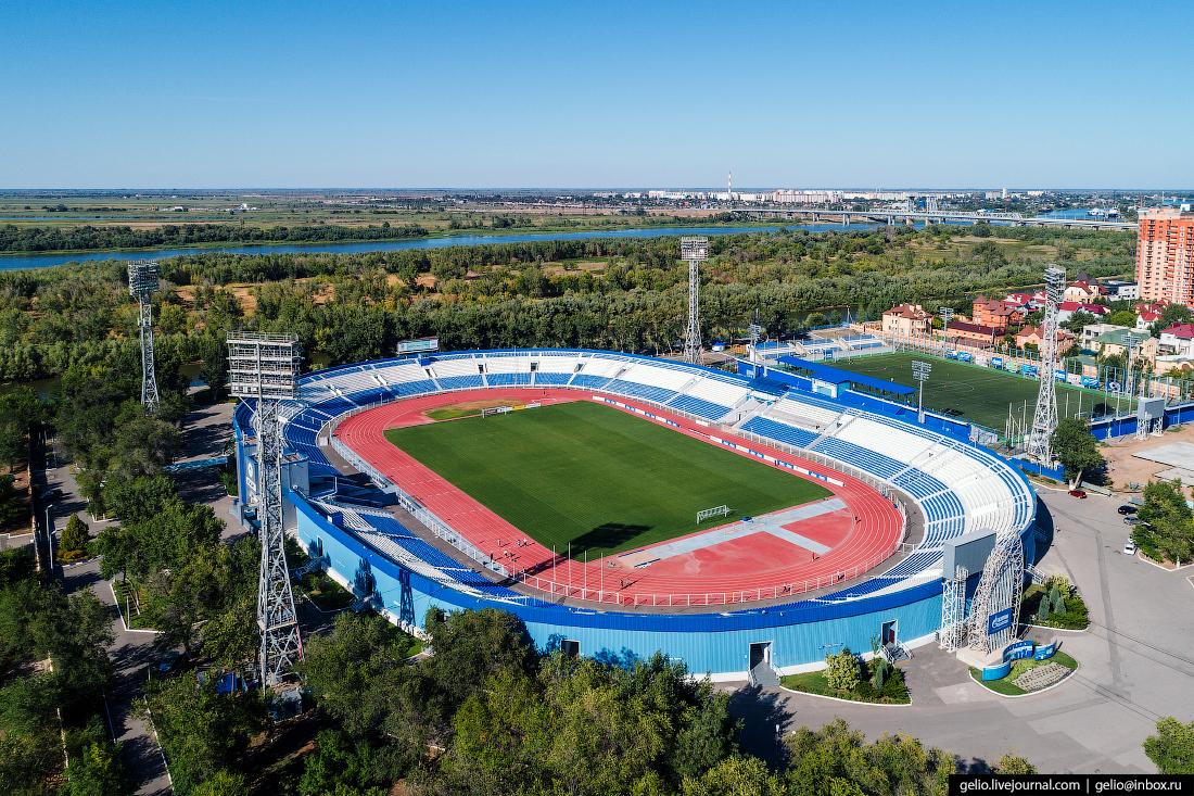 Астрахань с высоты — каспийские ворота России (48 фото)