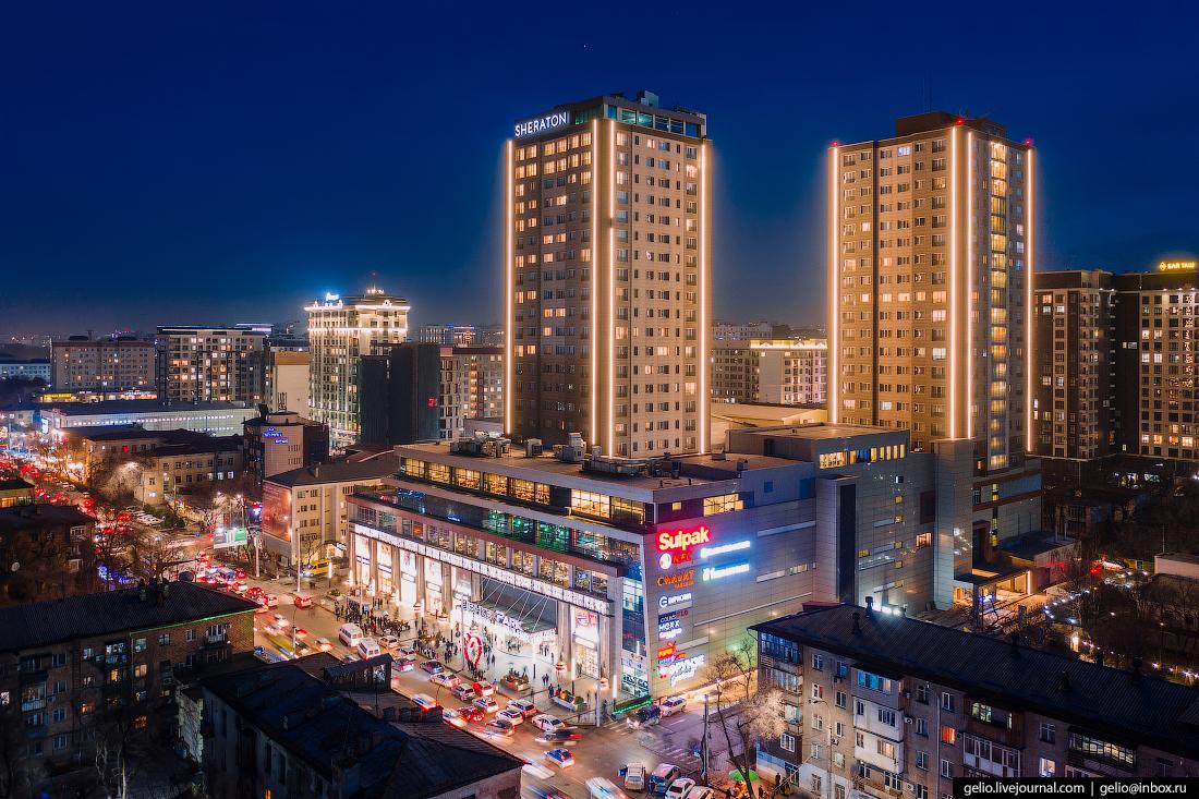 Бишкек с высоты Bishkek Park
