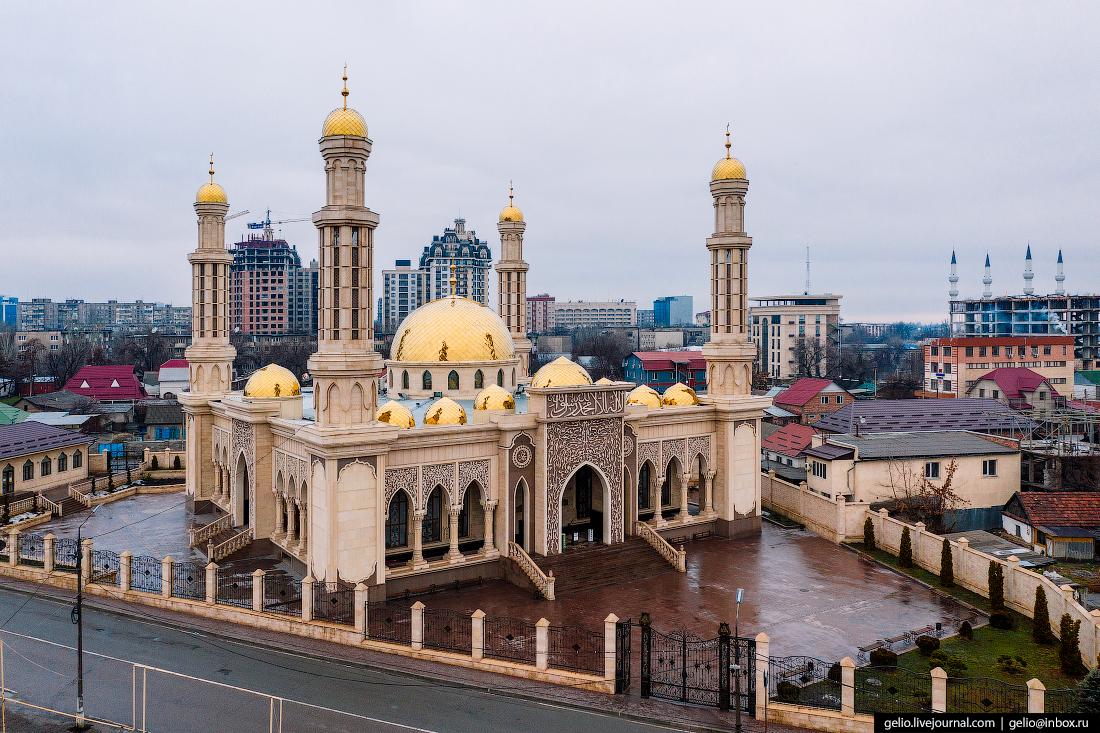 Bishkek Бишкек с высоты Мечеть Махмуда Кашгари