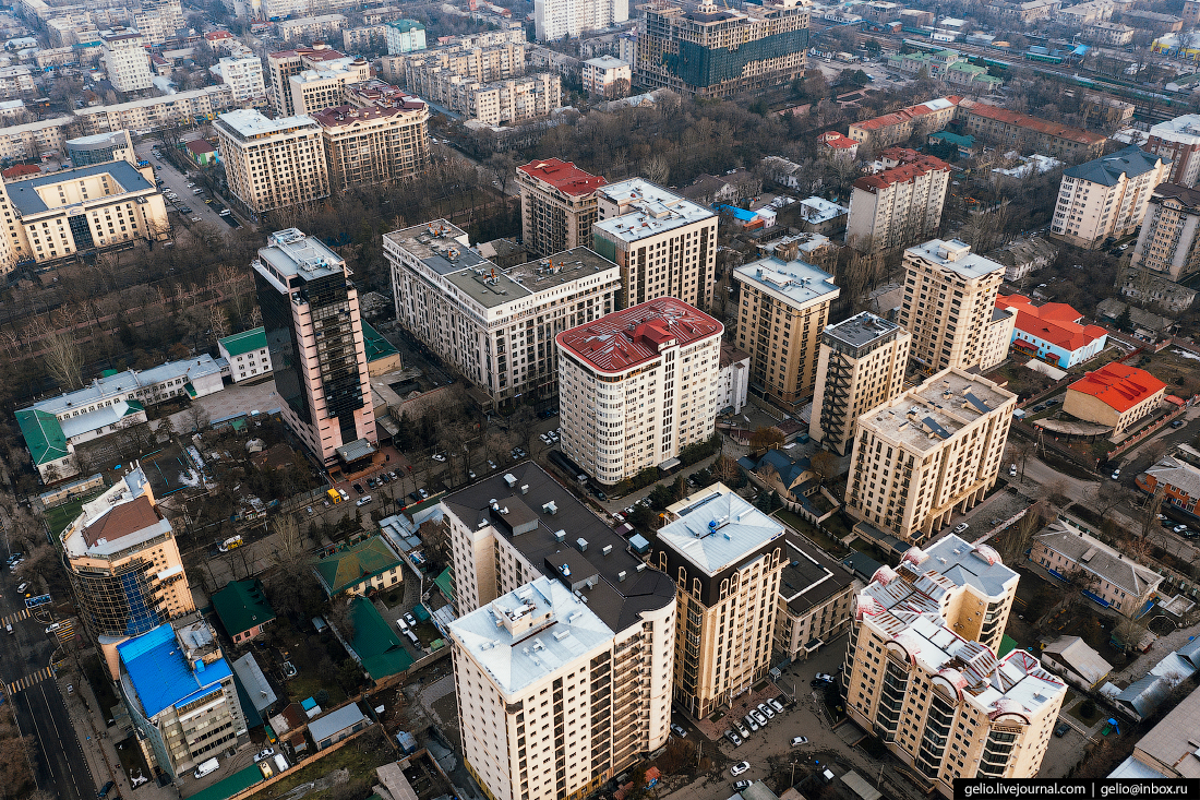 Bishkek Бишкек с высоты