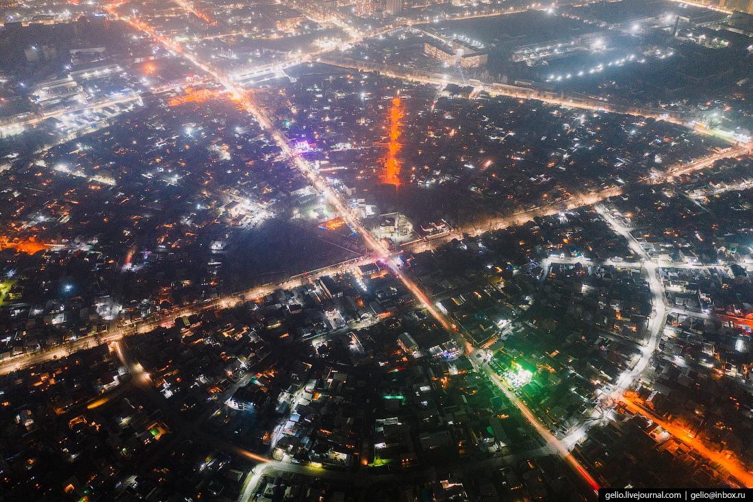 Bishkek Бишкек с высоты Рабочий городок