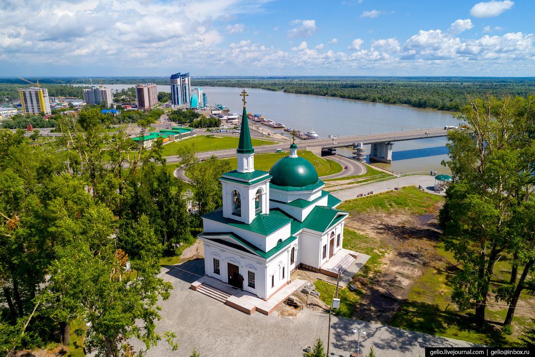 Фото Барнаул, церковь Иоанна Предтечи