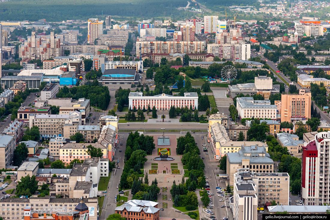 Фото Барнаул, площадь Советов