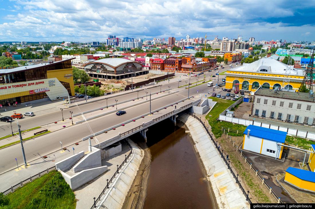Фото Барнаул, Набережная реки Барнаулка