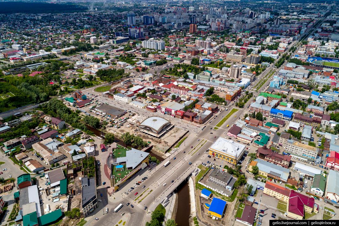 Фото Барнаул, пешеходная улица Мало-Тобольская