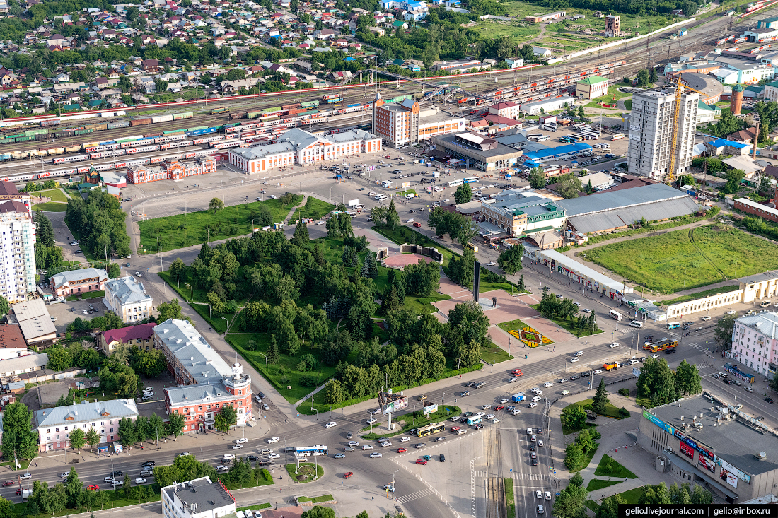 Фото Барнаул, Площадь Победы