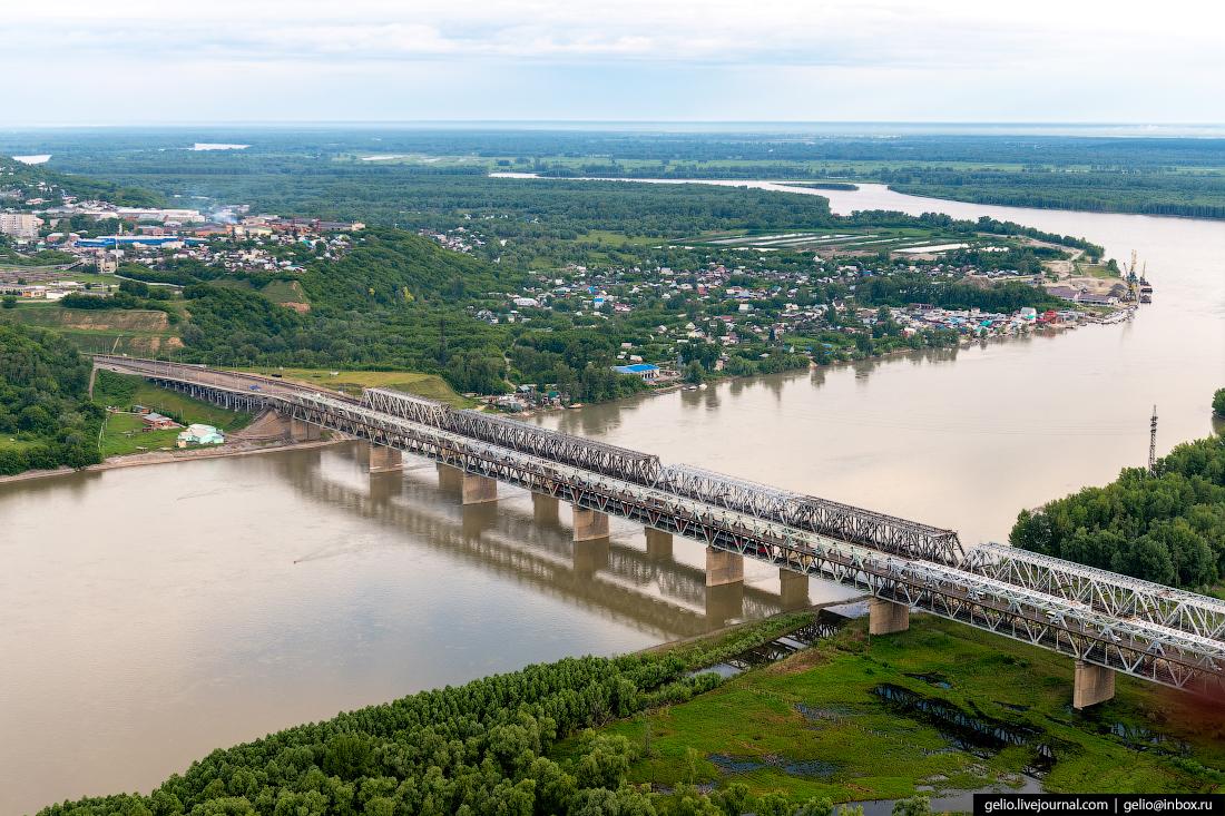 Фото Барнаул, железнодрожный мост