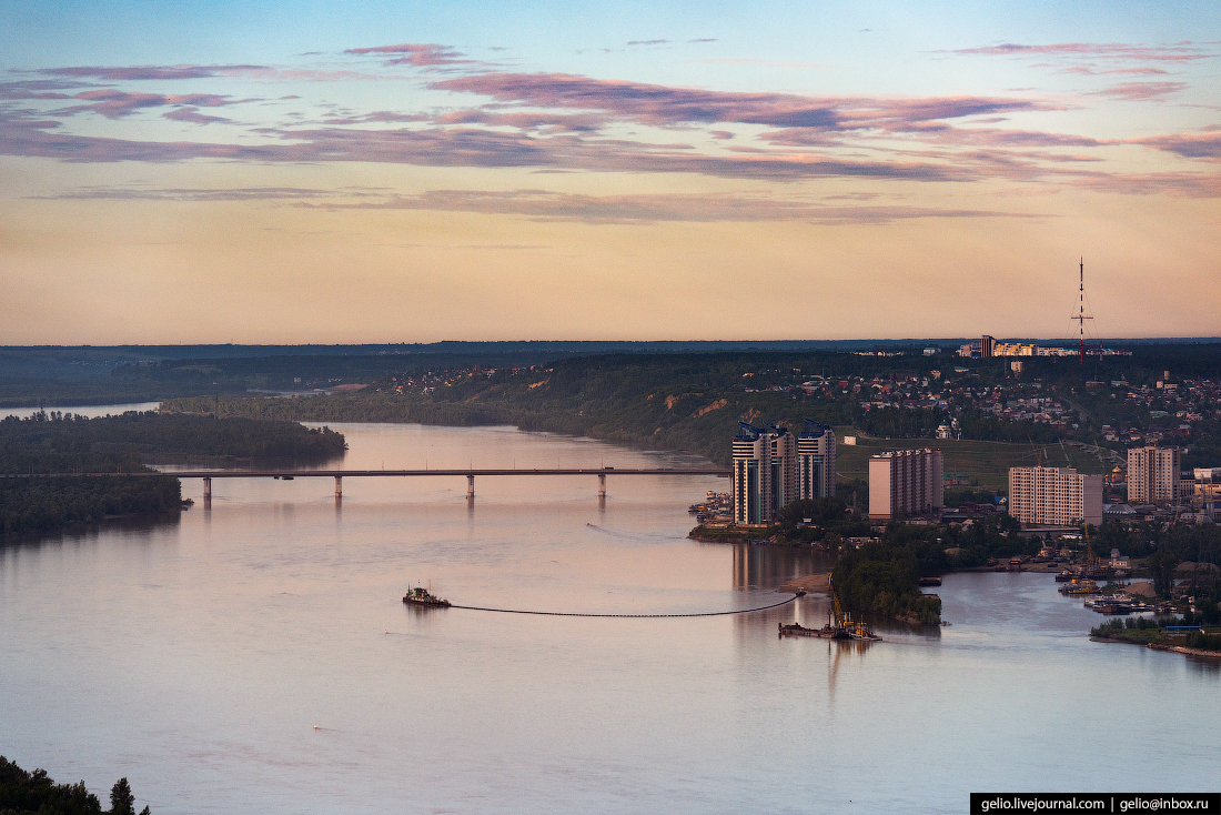 Фото Барнаул, река Обь