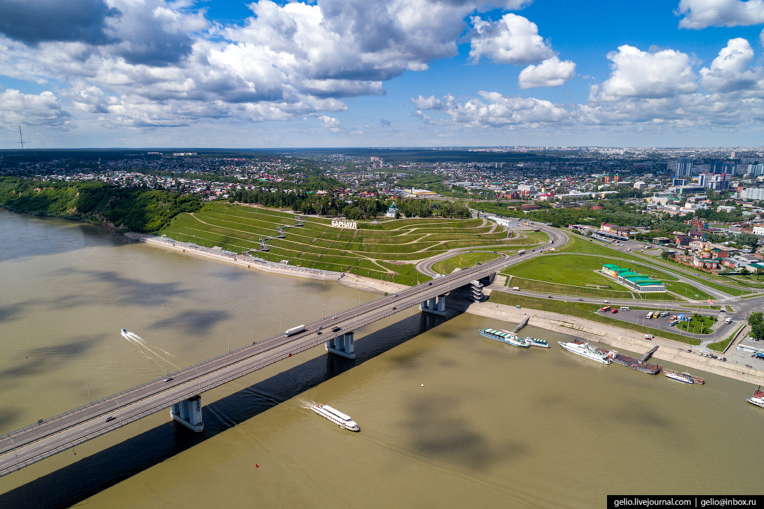 Фото Барнаул, Новый мост