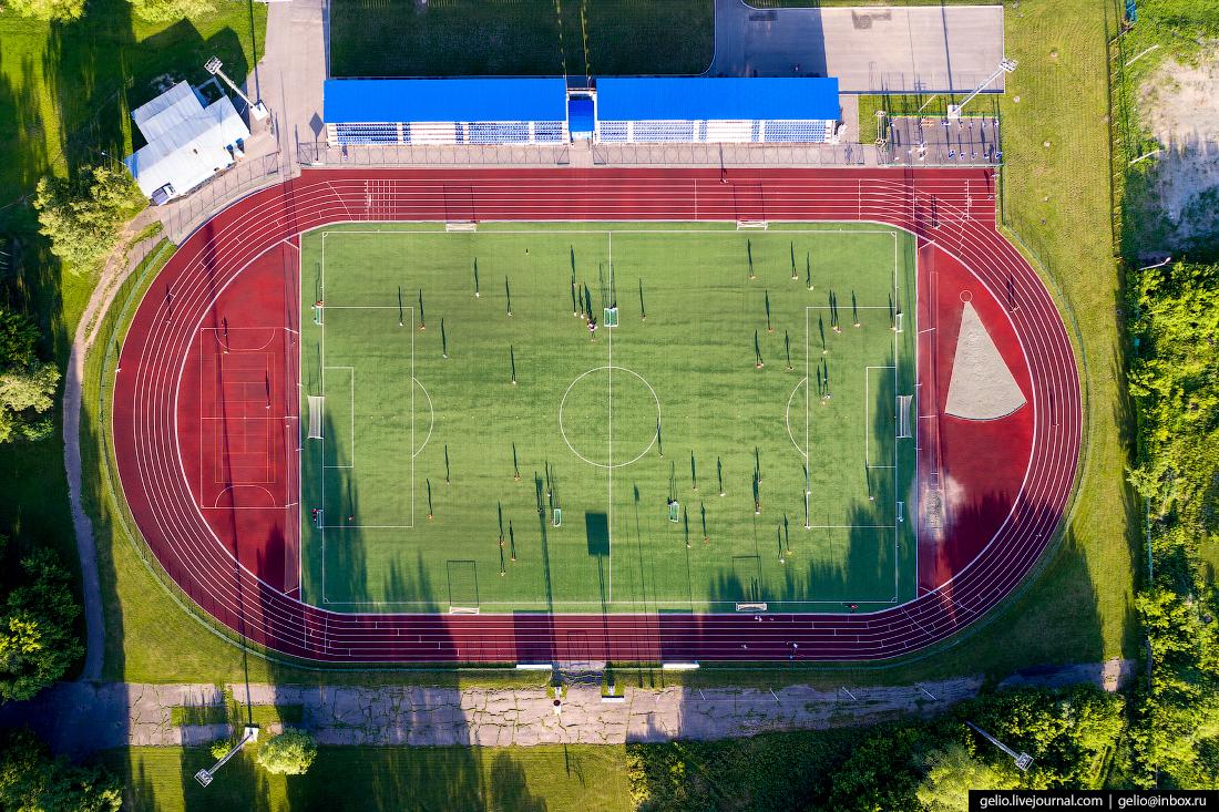 Фото Барнаул, стадион Лабиринт