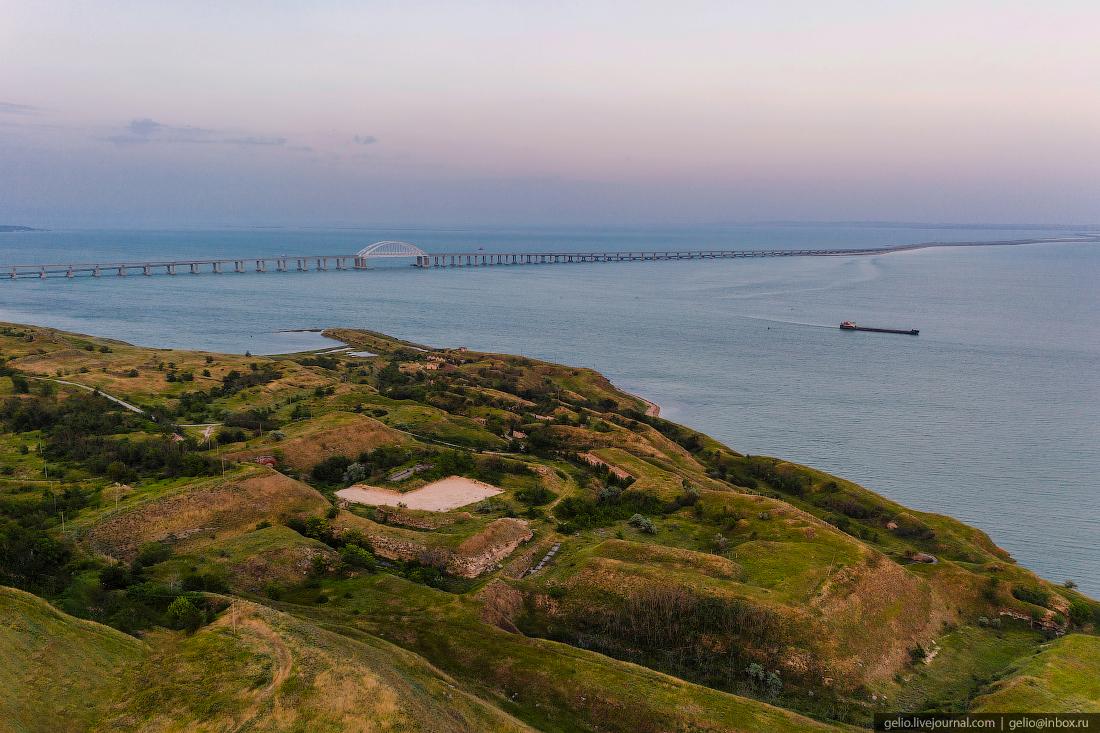 крымский мост, крым, керченская крепость