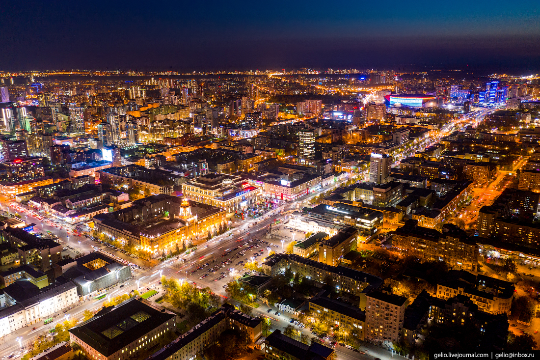 Виды Екатеринбург с высоты Площадь 1905 года