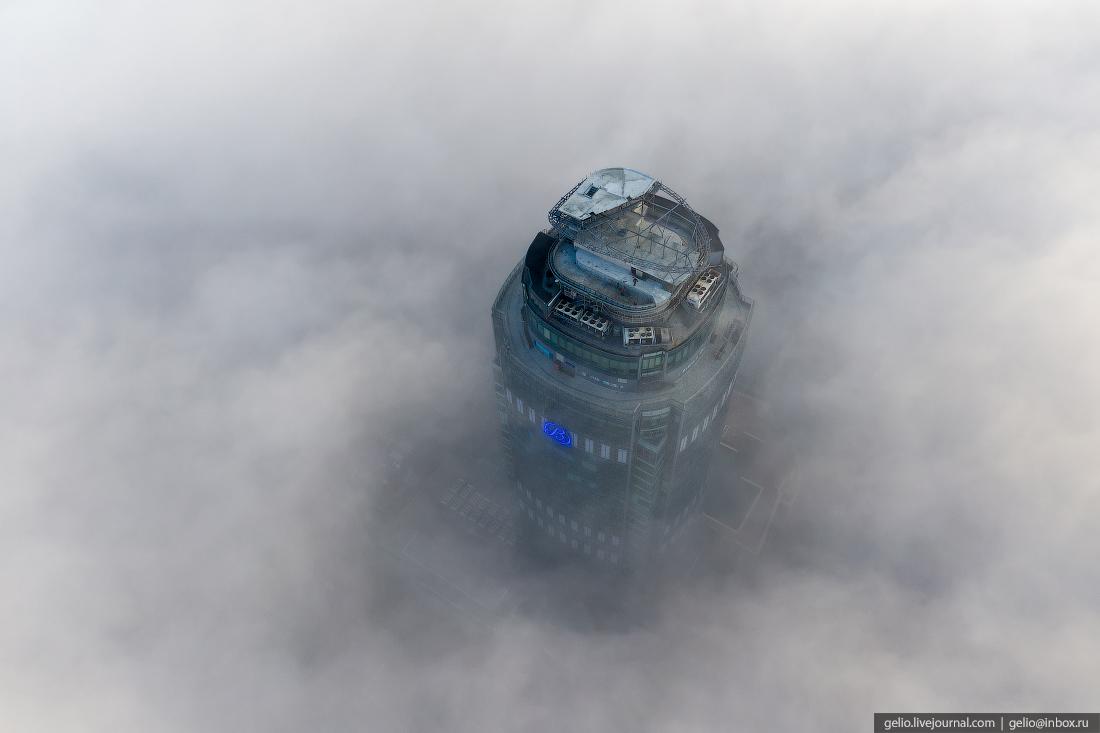 Виды Екатеринбург с высоты Высоцкий