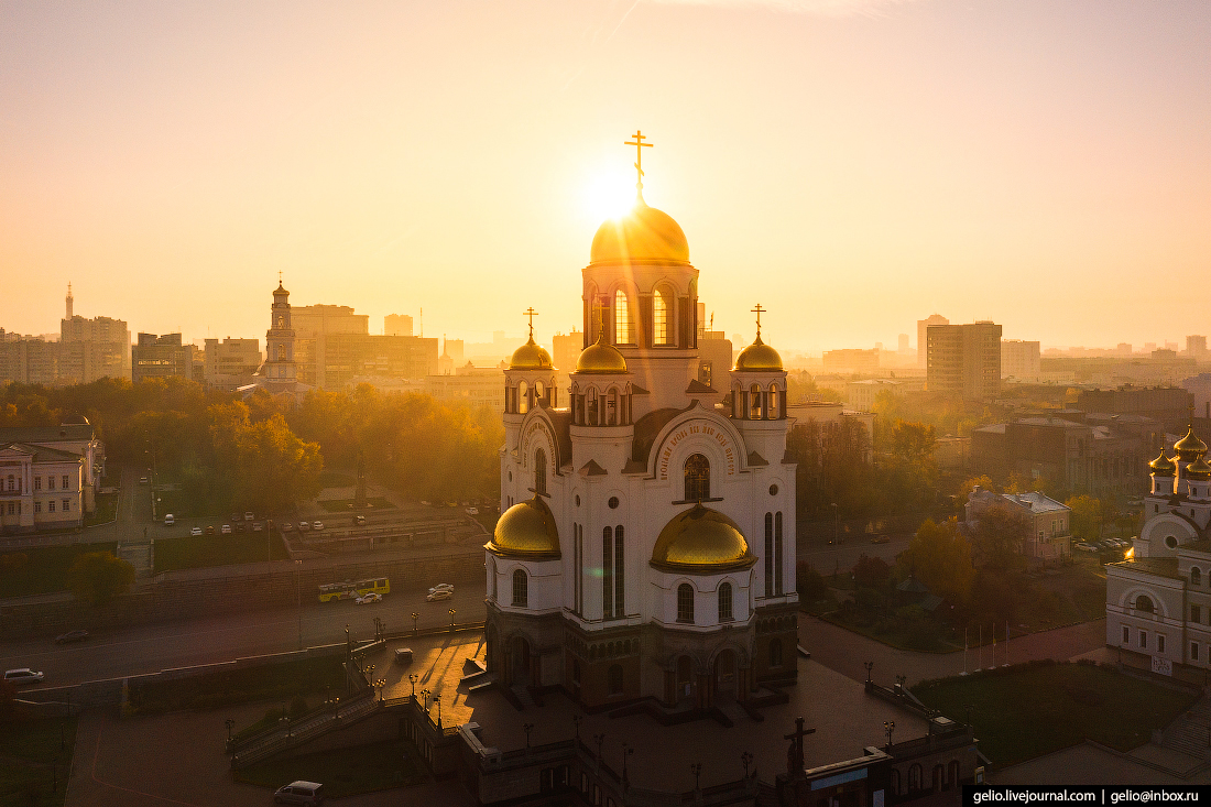 Екатеринбург Храм на Крови