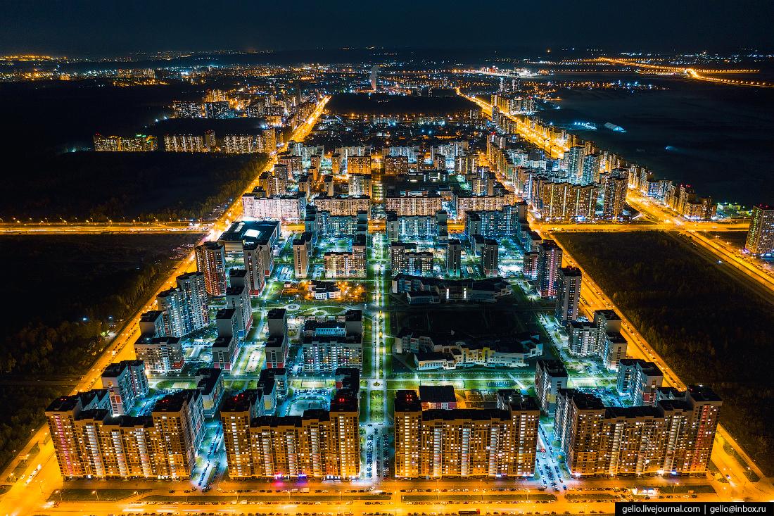 Виды Екатеринбург с высоты Академический