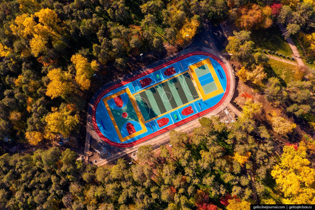 Виды Екатеринбург с высоты Зелёная Роща