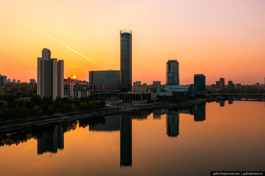 Виды Екатеринбург с высоты