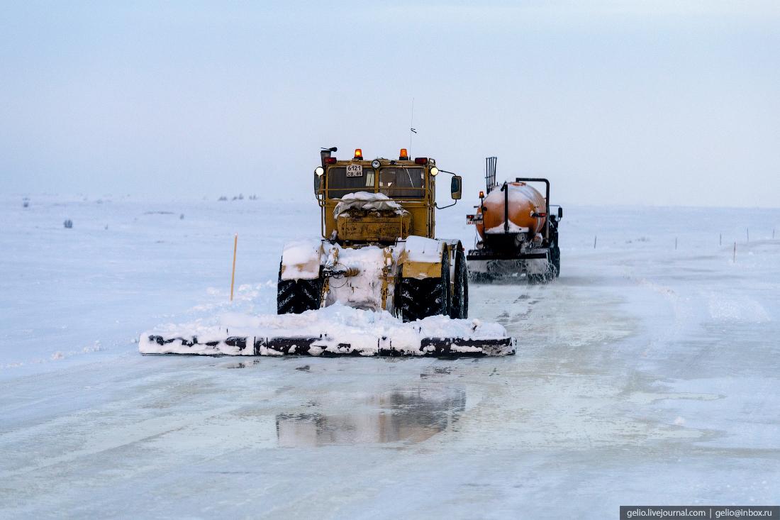 зимник, поиск разведка нефти, крайний север, сейсморазведка