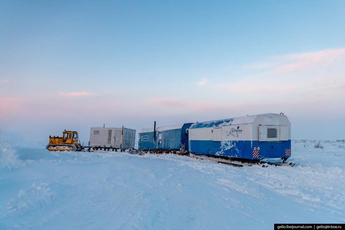 транпортировка, поиск разведка нефти, крайний север, сейсморазведка