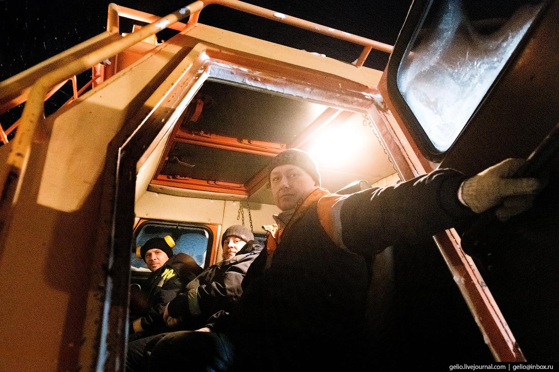 Вездеход, поиск разведка нефти, крайний север, сейсморазведка
