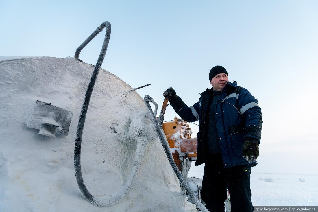 ТРЭКОЛ, поиск разведка нефти, крайний север, сейсморазведка