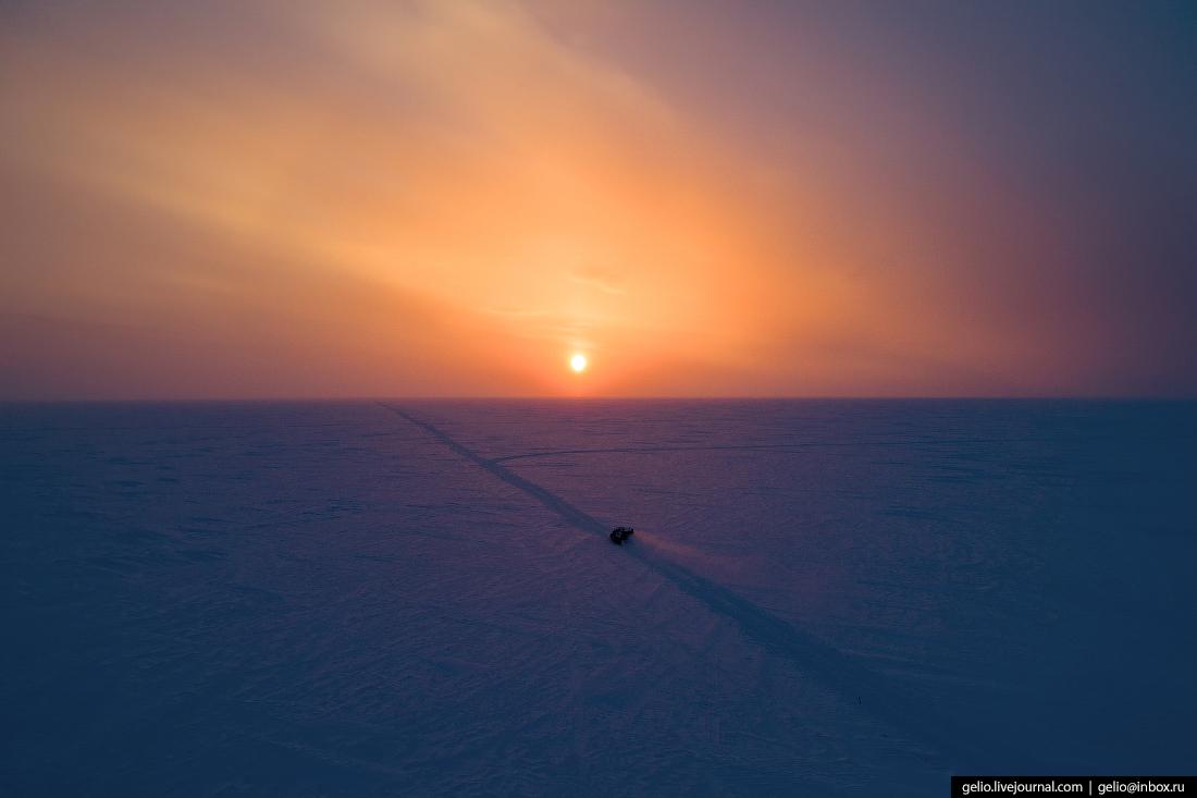 поиск разведка нефти, крайний север, сейсморазведка