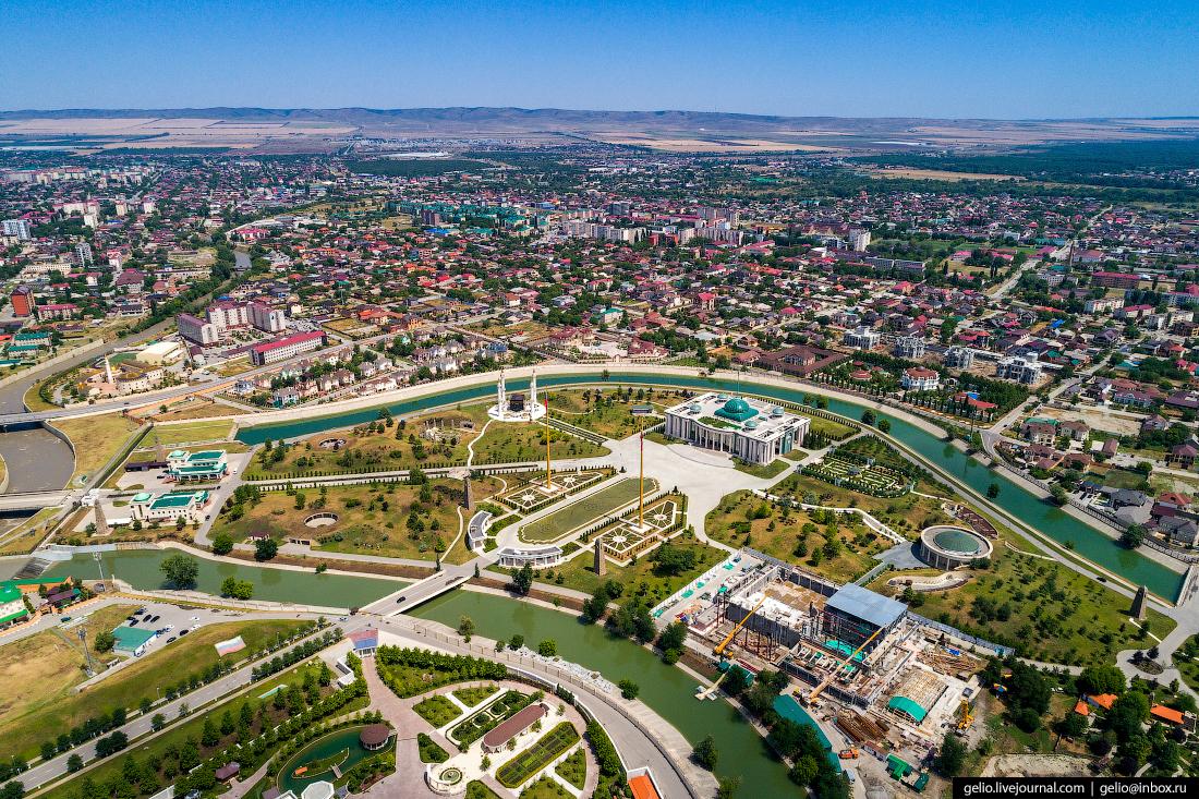Грозный Резиденция главы Чеченской Республики Кадырова Рамзана