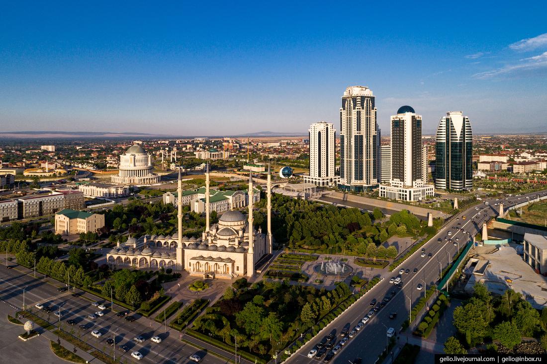 Грозный Мечеть Сердце Чечни