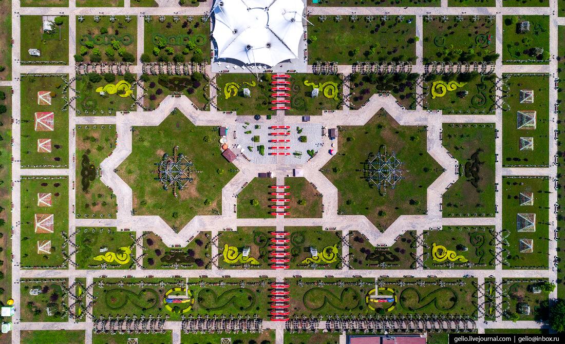 Грозный Цветочный парк
